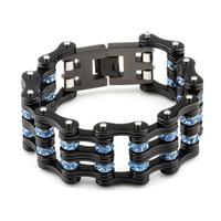 New style quality mens stainless steel bracelet with carbon,fast shipping
