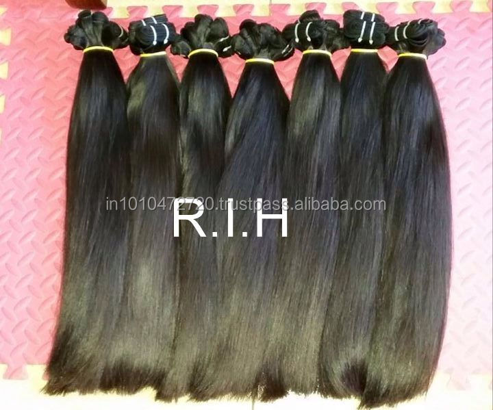 New products 2017 the best selling products market accept paypal virgin indian temple hair