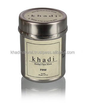 Khadi Natural Herbal Rose Face Mask SLS Free