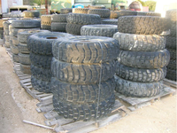 Used truck tires and wheels