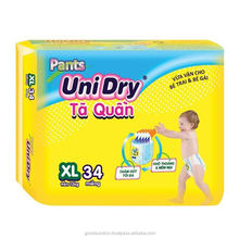 UNIDRY Baby Pants Diapers XL34