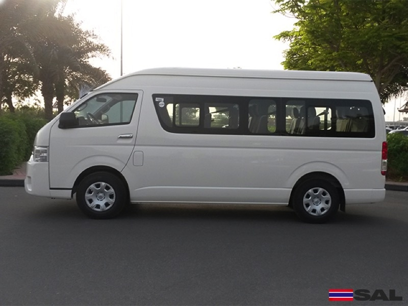 2016 TOYOTA HIACE 2.5L GL HIGH ROOF COMMUTER 15 SEATER 2WD 5MT DIESEL