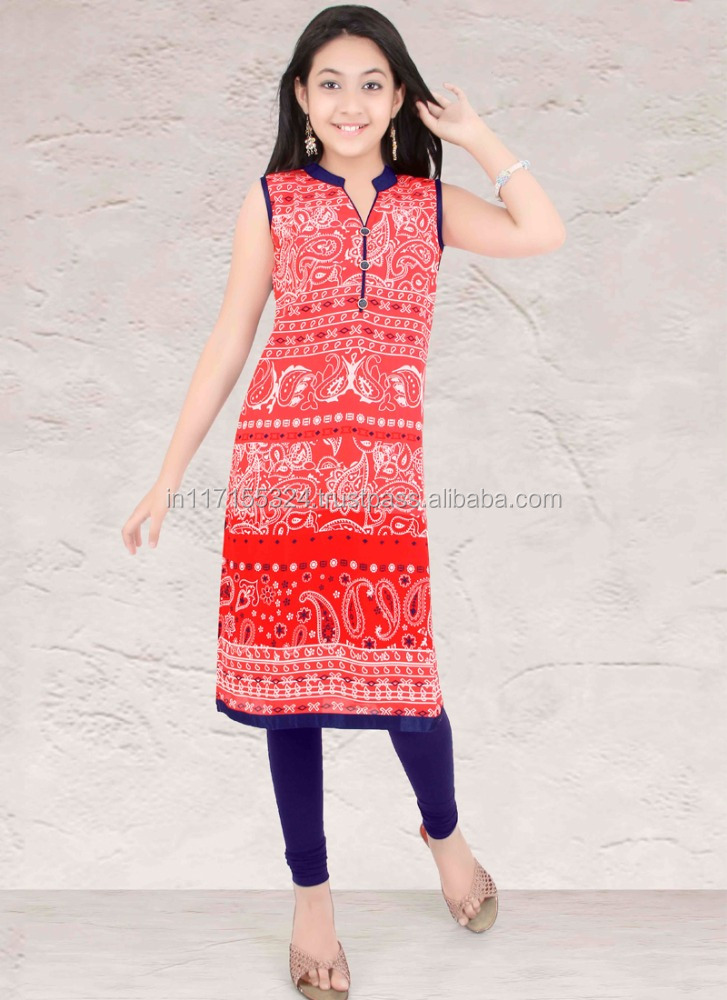 Made in india latest design kids wear brands in india - Indian kids wear - Kids party wear kurtis fashion