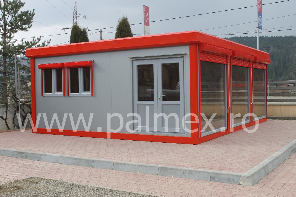 Container office modular building