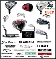 Various types of and low-cost used driving range equipment and Used golf club with good condition