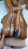 New model brogue men party shoes in genuine leather