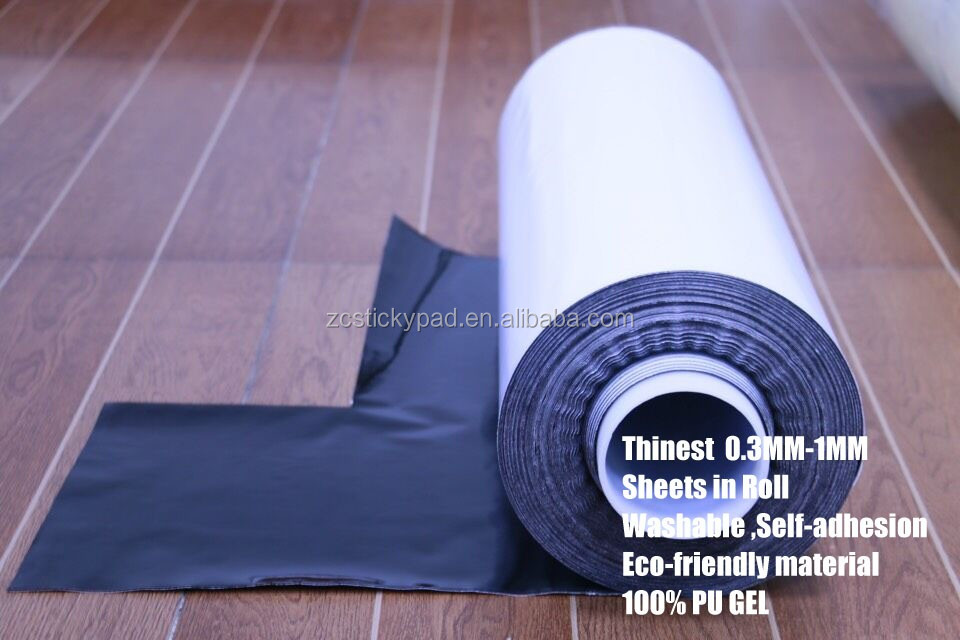 2016 Newest Tecnical Self-adhesion Pu Gel Sheet In Roll cut in any shape