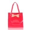 Wholesale Ladies Carry Bag Crystal Lovely Iconic Bow Women Shopper Bag