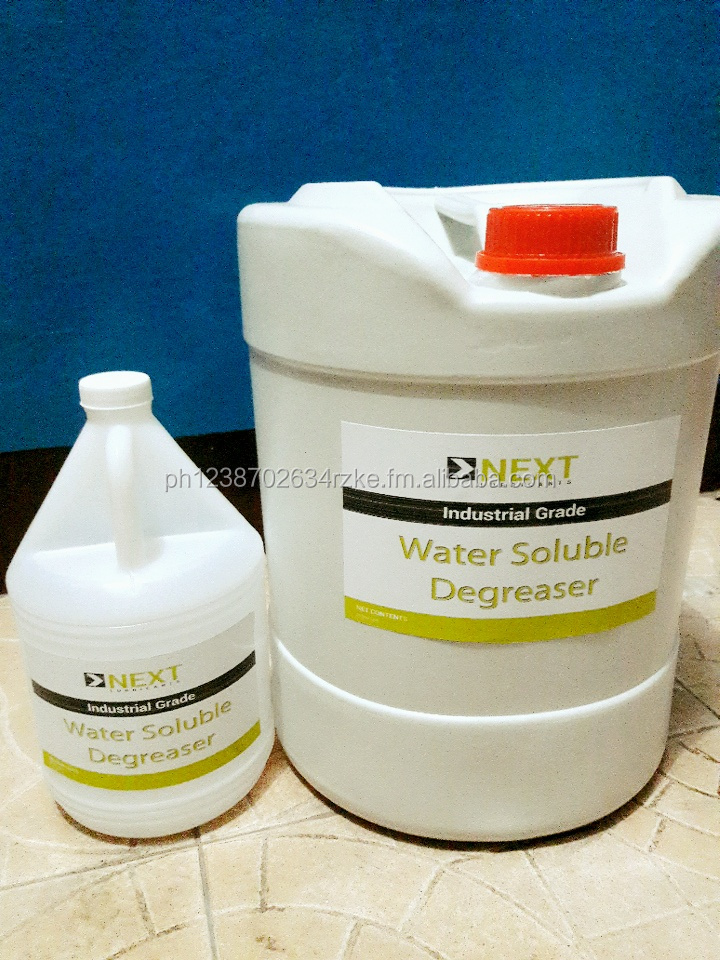 water soluble degreaser