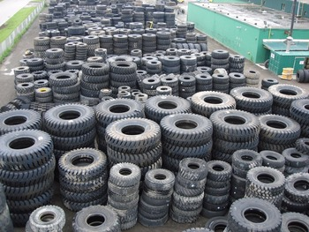 Used tyre for car truck tyre OTR AGR used in world