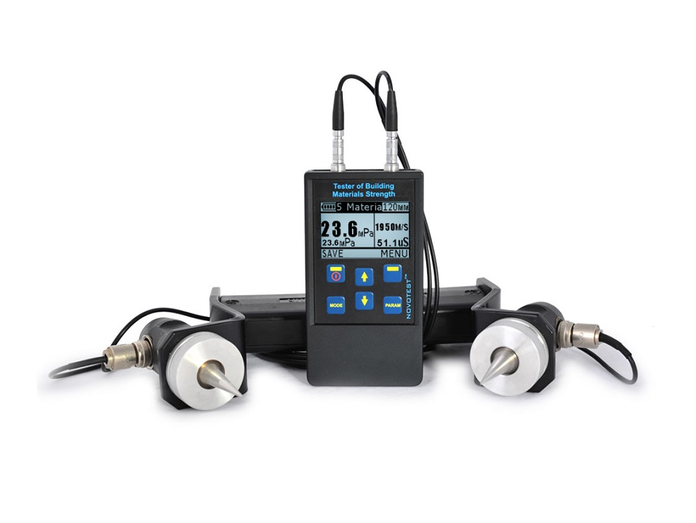 Ultrasonic Tester of building materials (concrete) strength NOVOTEST IPSM-U