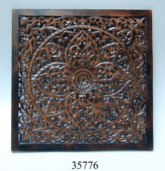 Supplier of Wall Decorative Wooden Carved Panels India
