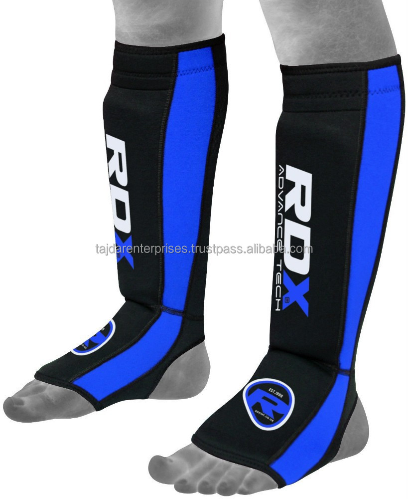 Authentic RDX kick boxing Gel neoprene Shin pad