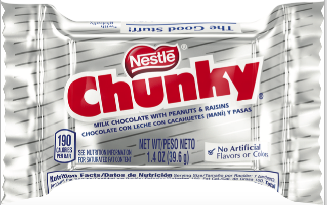 Chunky Chocolate Single 10(24x1.4oz)