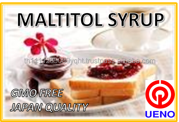 Low calorie sweetener Maltitol syrup made in Thailand for making diabetic jam