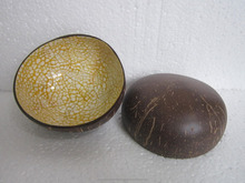 Coconut shell bowl handicraft products made in Vietnam, hot selling bowls