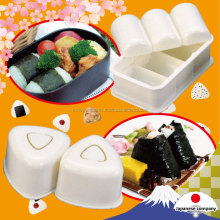 Easy to use and Convenient onigiri machine for you can arrange decoration Bento