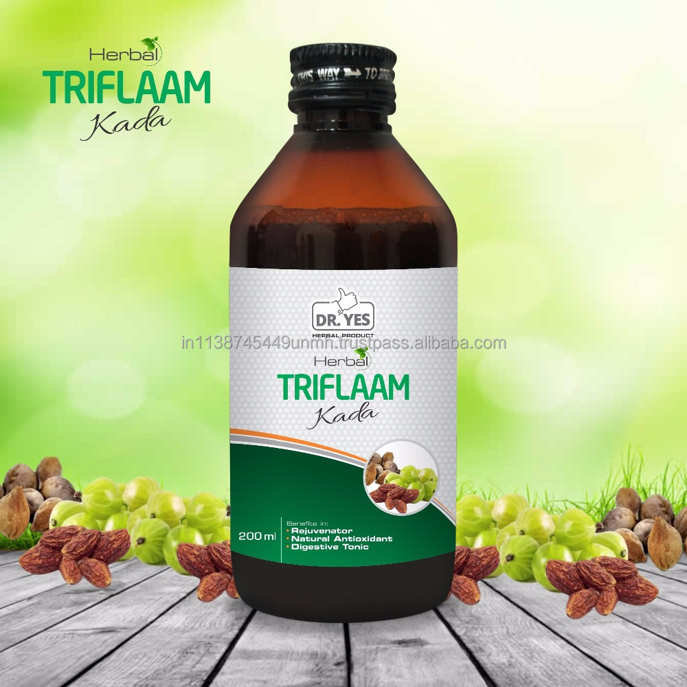 DR. YES HERBAL TRIPHALA KADA - Rejuvenator, Natural Antioxidant, Digestive