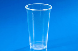 PP cup, Custom printed clear transparent disposable