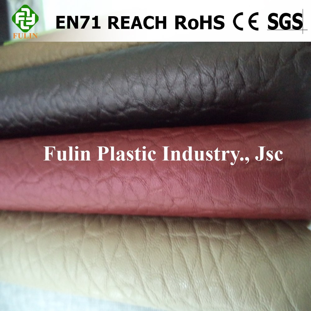 19 year experienced pvc furniture outdoor/sofa leather with Fire Retardancy