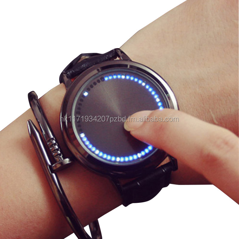 LED Watch Touch glass!!