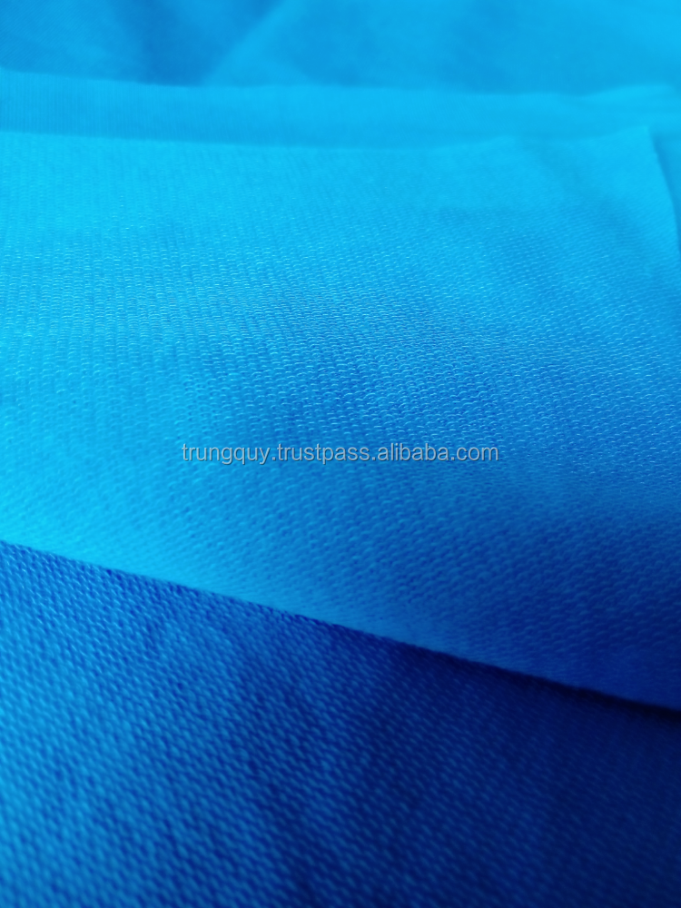 cotton terry fabric, french terry fabric,terry knitted fabric
