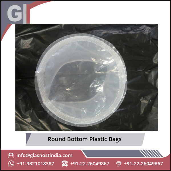 High Quality Raw Material Made Round Bottom Plastic Bags for Various Packaging Application