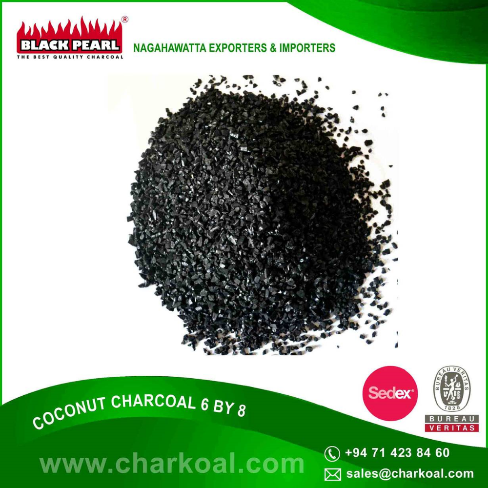 Granulated Charcoal for Industrial, Pharmaceutical and Agricultural Use