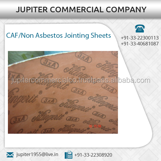 Acid Resistant Cost-Effective Jointing Sheets / Gaskets Available for Sale at Commercial Price