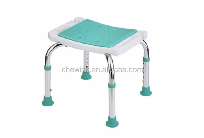 Safety adjustable bath toilet chair for patient
