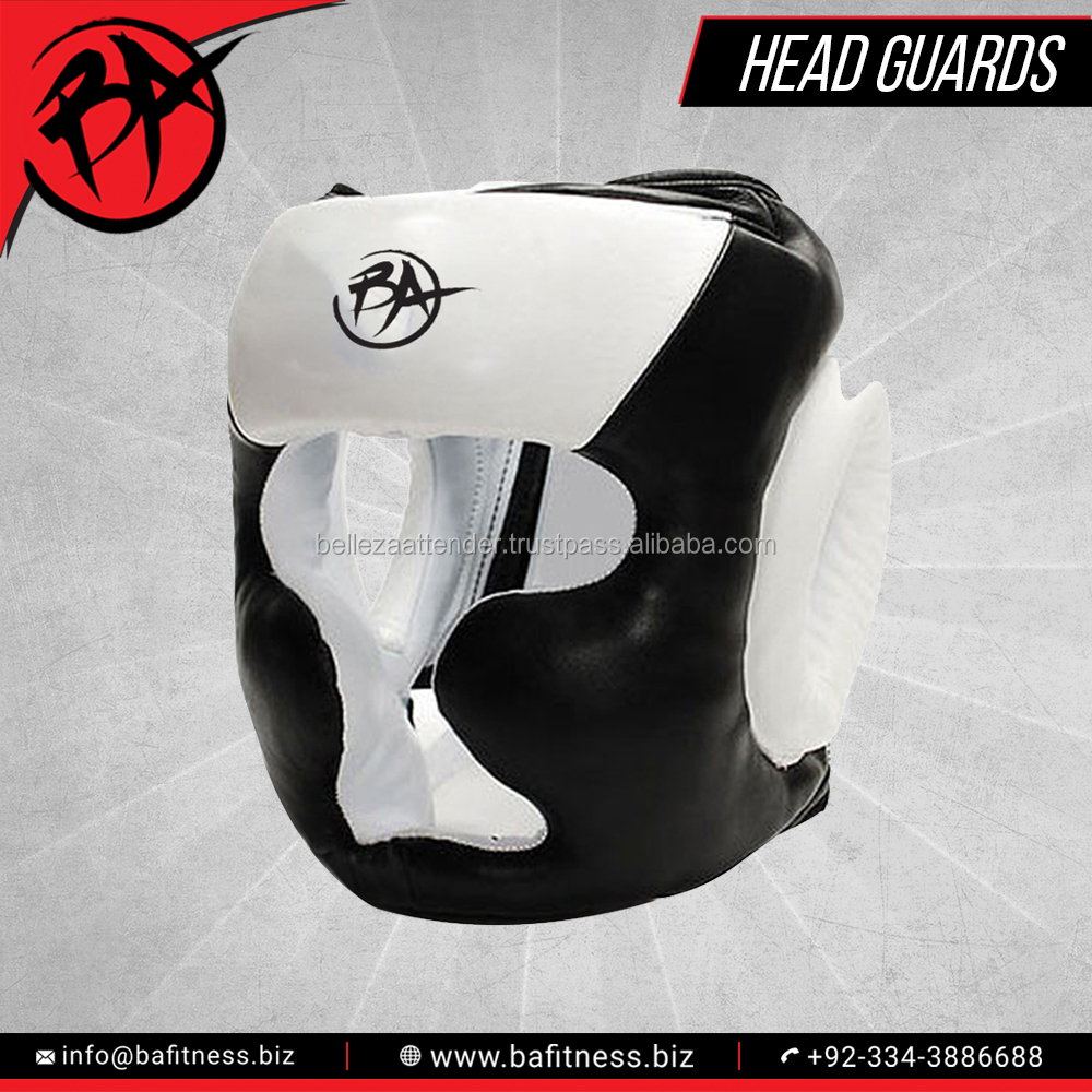 Boxing Cheeks Protector Training Head Guard