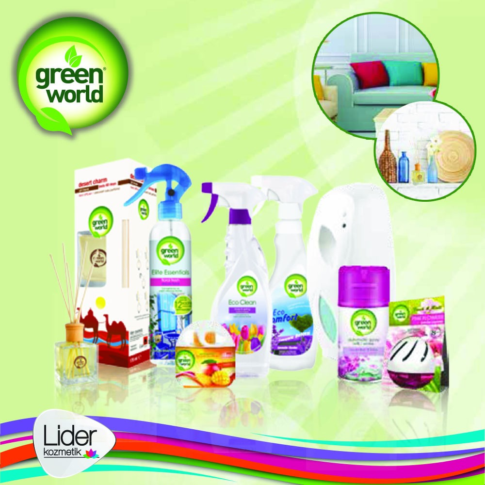 Great Quality Air freshener Green World