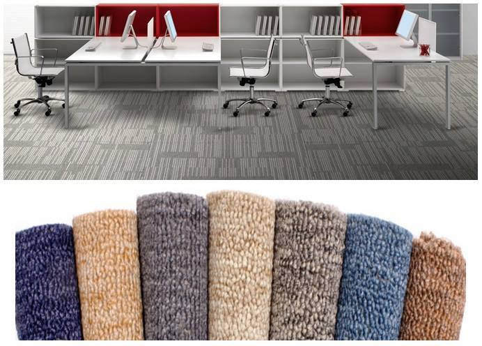 Carpet Tiles (( 50x50 sqm )) Office Partition/ Furniture