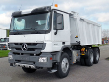 Used LHD Mercedes Benz Actros 40.40K Tipper 2013