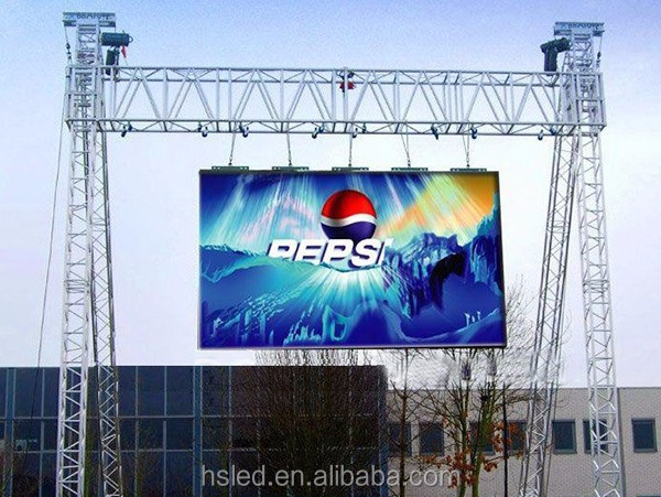 P10 960mmx960mm aluminum Outdoor Led screen for Advertising and Rental