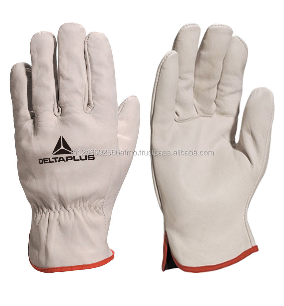 "10.5"" Cowhide Split Heavy Duty Industrial Safety Driver Working Leather Welding Gloves"