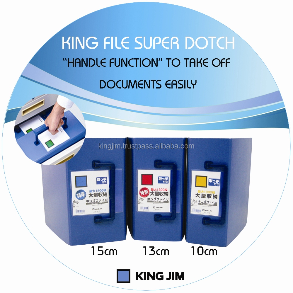 2 hole binder, filling product, File folder with handle - King File SD