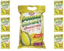 Freeze Dried durian monthong 210 packs ( 6 small packs inside ) from Thailand [ Thai Ao Chi Brand ]