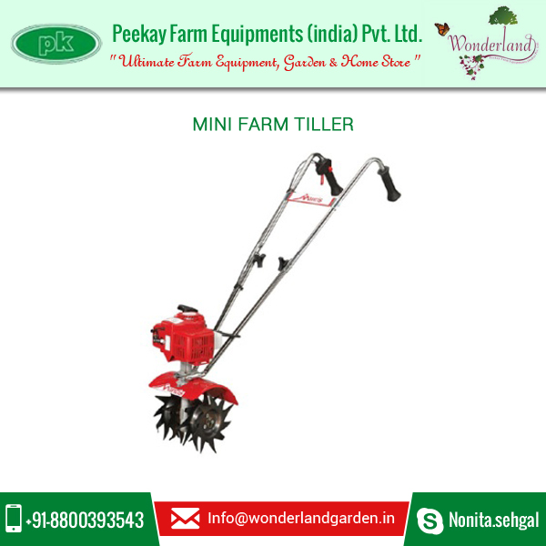 High Quality Mini Garden Tillers ( 2 stroke,9 inches, power weeder) at Low Rate