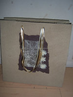 Handmade Paper Jumbo Gift Bags in large sizes for furniture stores, gift stores, home decor stores