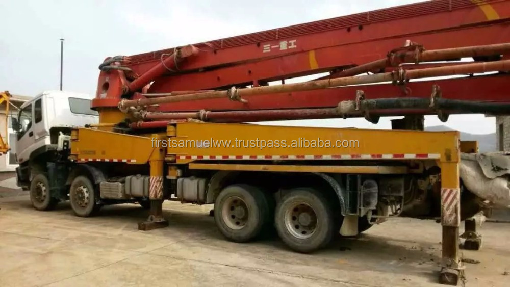 Used SANY 48m Concrete Pump