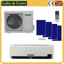 48v DC New product 100% solar power split air conditioner for energy saving