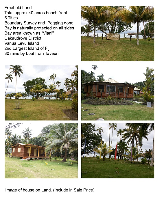 Fiji Land 40 Acres Freehold Foreign Buyer approved