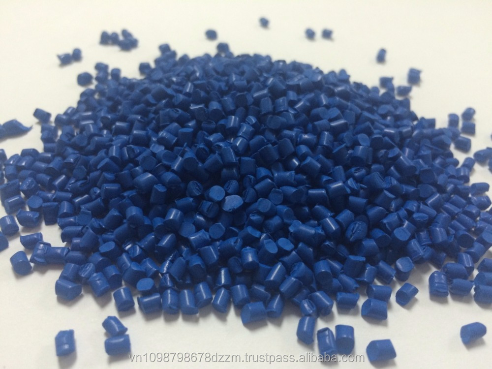 Blue master batch for blow film, extrusion blow, injection molding