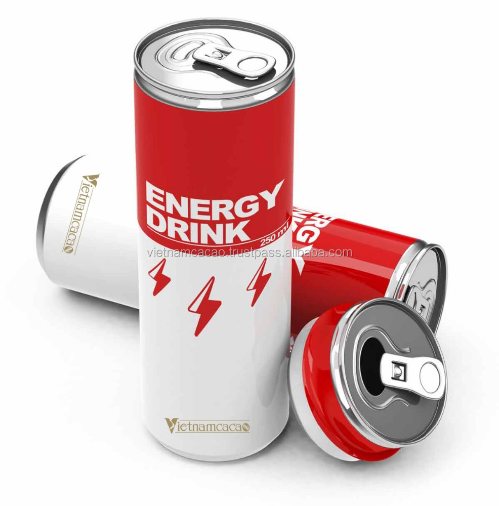 Producer Of Energy Drink 250 ML - anhnguyen@vinacacao.com.vn