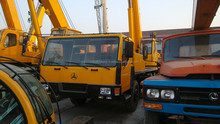 25 ton used truck crane Hot sale Sany truck crane STC250 for sale in China