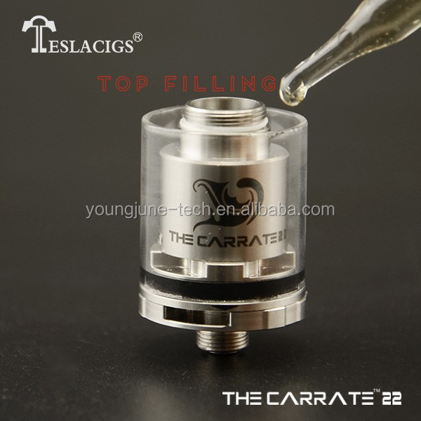 One of the best 2016 Teslacigs RTA Carrate 22