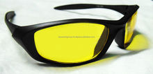 Kawachi Outdoor Sports Night Vision Driving Yellow Sunglass