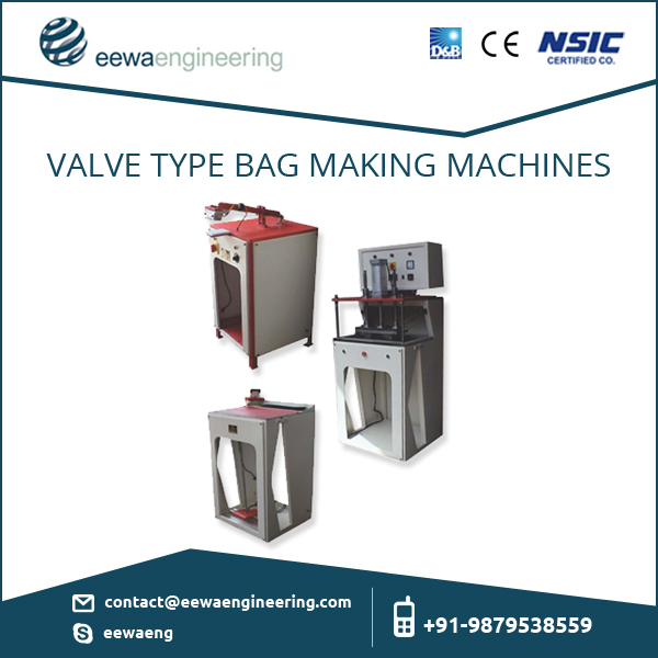 High Quality Certified Seller of Valve Type Bag Making Machine