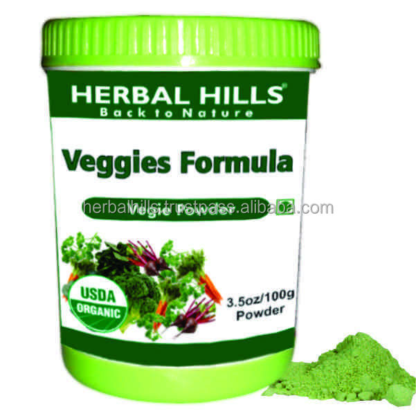 ayurvedic products / Super Vegiehills Green vegie formula powder 100 gms
